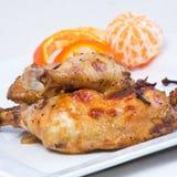 Piedini di pollo nello stile orientale Immagine Stock
