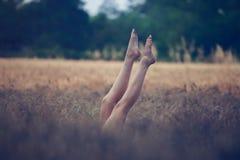Piedini e piedi femminili Immagine Stock Libera da Diritti