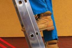 Piedini e scaletta Fotografie Stock Libere da Diritti