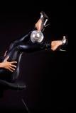 Piedini e sfera sexy Fotografia Stock Libera da Diritti