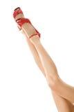 piedini femminili Immagine Stock Libera da Diritti