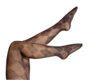 Piedini femminili in pantyhose Fotografie Stock