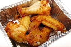 Piedino di pollo fritto fotografie stock