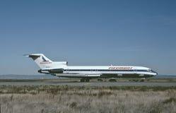 Piedmont αερογραμμές Boeing β-727-214 που προσγειώνονται στο Σαρλόττα Στοκ φωτογραφίες με δικαίωμα ελεύθερης χρήσης