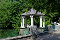 Piedmont πάρκο Ατλάντα Στοκ φωτογραφία με δικαίωμα ελεύθερης χρήσης