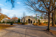 Piedmont σπίτι λουτρών πάρκων, Ατλάντα, ΗΠΑ Στοκ φωτογραφία με δικαίωμα ελεύθερης χρήσης