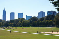 Piedmont Park Atlanta Royalty Free Stock Photography