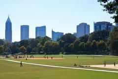 Piedmont Park Atlanta Royaltyfri Fotografi