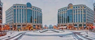 Piedmont plaza στο Σαρλόττα nc Στοκ εικόνες με δικαίωμα ελεύθερης χρήσης