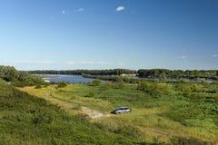 piedmont po πάρκων όψη valentino του Τορίνου ποταμών Στοκ εικόνα με δικαίωμα ελεύθερης χρήσης