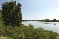 piedmont po πάρκων όψη valentino του Τορίνου ποταμών Στοκ Εικόνα