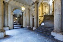 Piedmont -Turin - Italy - Palazzo Carignano Stock Photos