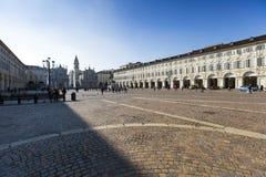 Piedmont -Turin - Italy - Piazza San Carlo Stock Photos