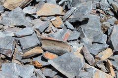 Piedra agrietada Imágenes de archivo libres de regalías