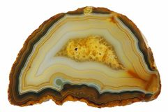 Piedra amarilla Imagen de archivo libre de regalías
