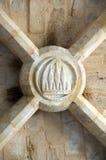 Piedra angular de la cámara acorazada Imagen de archivo