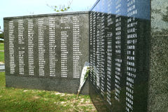 Piedra angular de la paz Foto de archivo libre de regalías