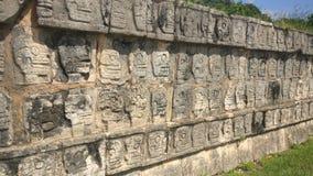 Piedra antigua de la pirámide Imagen de archivo