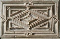 Piedra antigua del marco Fotografía de archivo libre de regalías