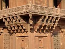 Piedra arenisca de Diwan-i-khas en Fatehpur Sikri Imagen de archivo libre de regalías