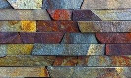 Piedra arenisca de la piedra azul mrable y textura de la pared del travertino Fotografía de archivo libre de regalías
