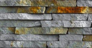 Piedra arenisca de la piedra azul mrable y textura de la pared del travertino Fotos de archivo