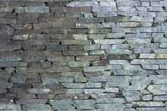 Piedra arenisca de la piedra azul mrable y textura de la pared del travertino Imagenes de archivo