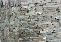 Piedra arenisca de la piedra azul mrable y textura de la pared del travertino Fotografía de archivo