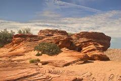Piedra arenisca del desierto Fotos de archivo libres de regalías