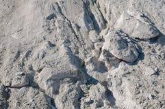 Piedra caliza de la textura con la luz natural Foto de archivo