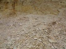 Piedra caliza quarry Foto de archivo libre de regalías