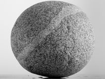 Piedra caprichosa redonda imagen de archivo libre de regalías