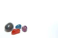 Piedra colorida Fotografía de archivo libre de regalías