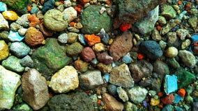 Piedra colorida Fotos de archivo libres de regalías