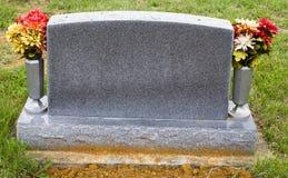Piedra conmemorativa en blanco Fotografía de archivo libre de regalías