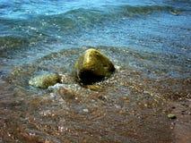Piedra crimea del mar, Gurzuf 2012 foto de archivo