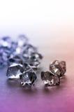 Piedra cristalina Imágenes de archivo libres de regalías