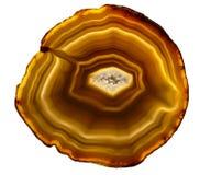 Piedra de Agata fotografía de archivo