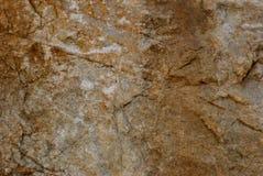 Piedra de Brown Fotografía de archivo libre de regalías