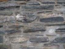 Piedra de campo y fondo del mortero Fotografía de archivo libre de regalías