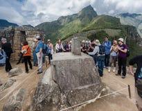 Piedra de Inti Watana Fotografía de archivo
