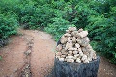 Piedra de la fe Fotografía de archivo libre de regalías