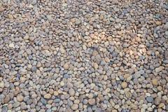 Piedra de la grava en la tierra Foto de archivo libre de regalías