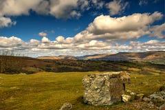 Piedra de la montaña Foto de archivo
