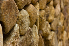 Piedra de la pared Foto de archivo libre de regalías