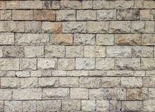 Piedra de la pared de la textura Fotografía de archivo