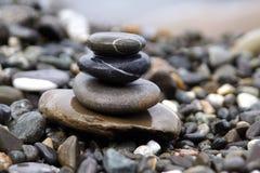 Piedra de la pila Foto de archivo libre de regalías