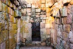Piedra de la puerta Imagen de archivo libre de regalías