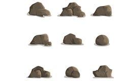 Piedra de la roca Imagen de archivo libre de regalías