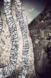 Piedra de la runa Fotografía de archivo libre de regalías